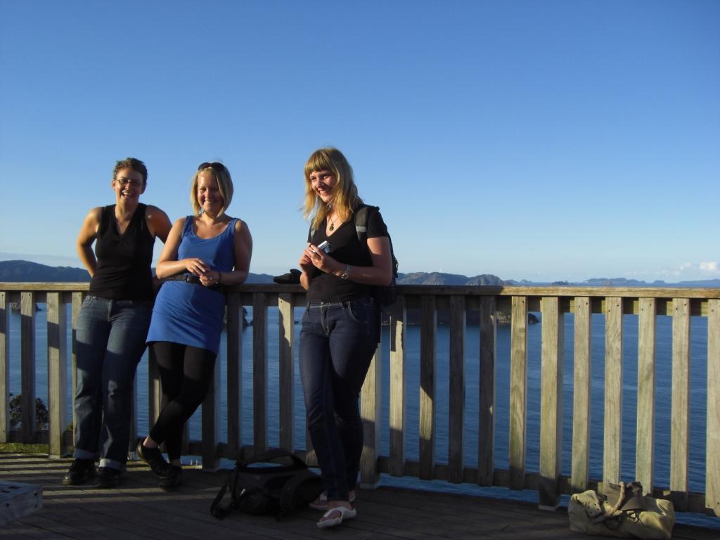 Anna, Laura und Helen -  Hahei