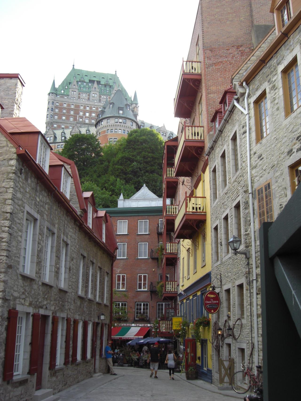 Blick auf Chateau