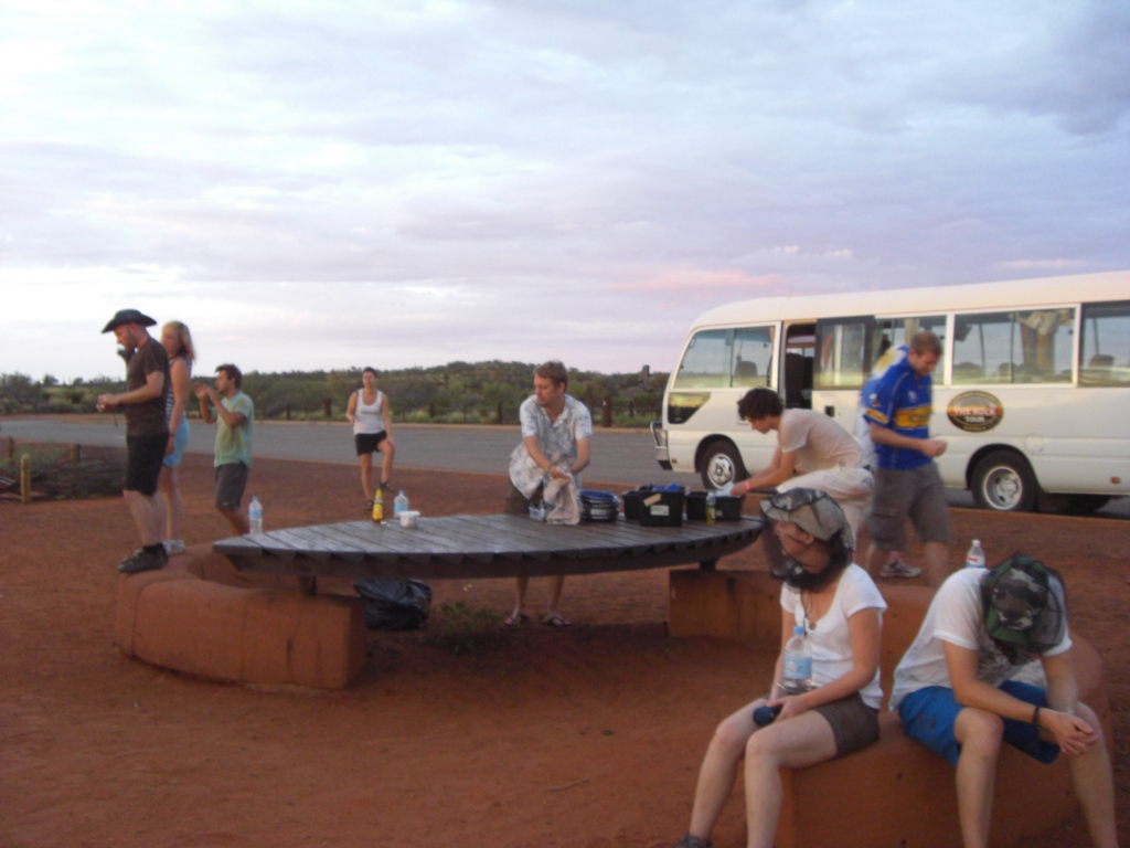 Breakfast at Uluru
