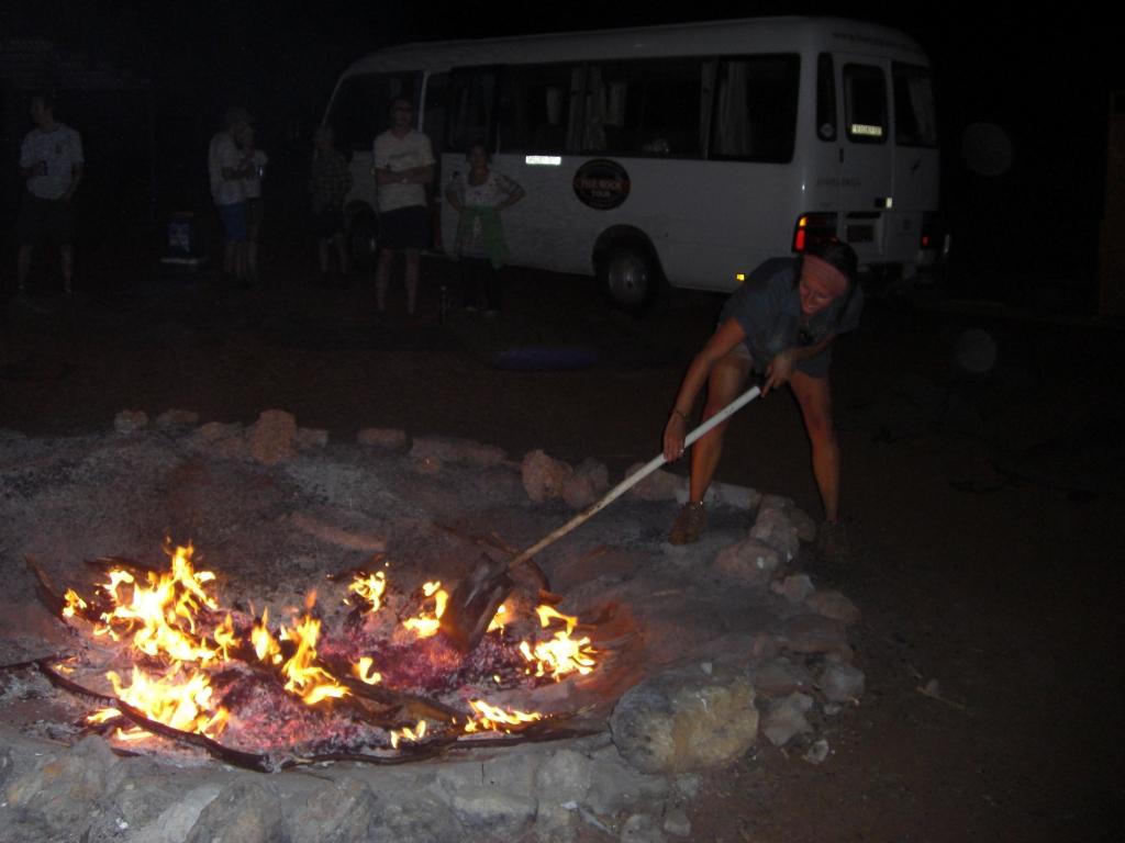 Campfire maintenance