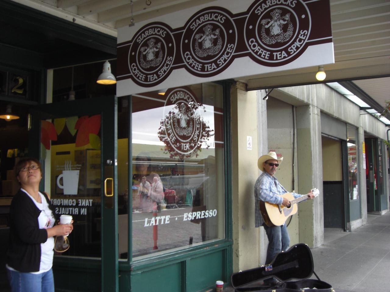 Das 1. Starbucks