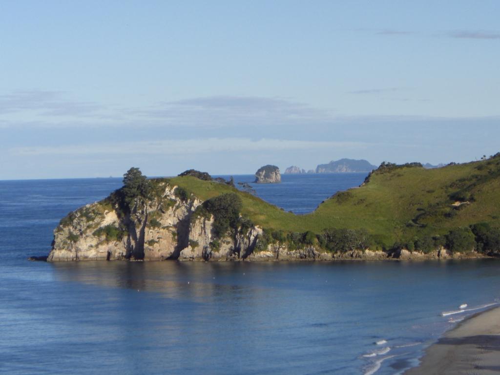 Das ist also dieses Neuseeland - Hahei