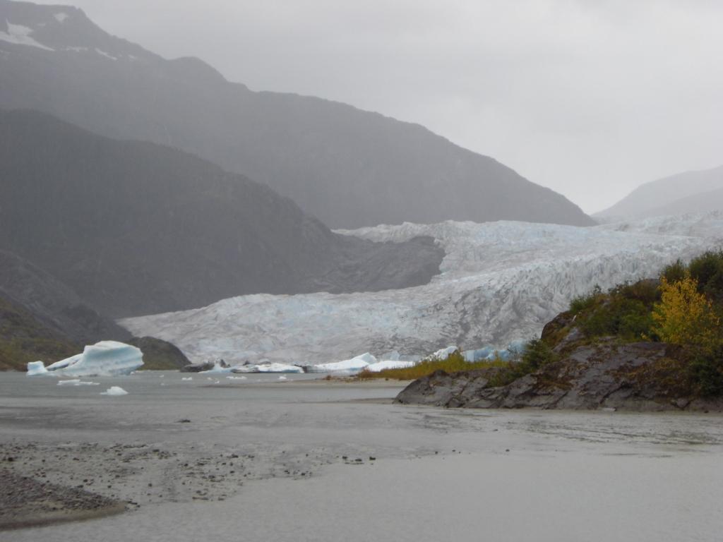 Dreckiger Gletscher