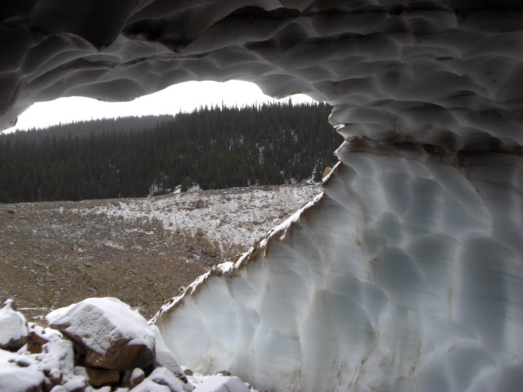 Eishöhle Ausgang