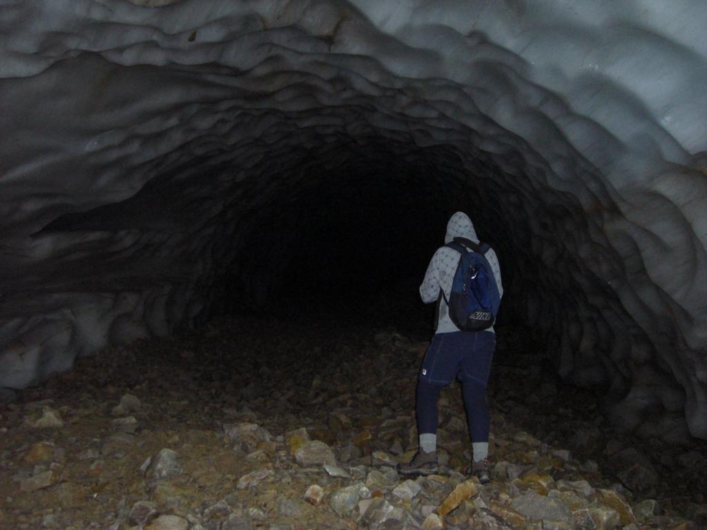 Eishöhle Innen