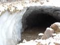 Eishöhle von Außen