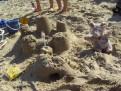 Eroberung einer Sandburg