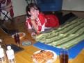 Festmahl bei meiner Cousine