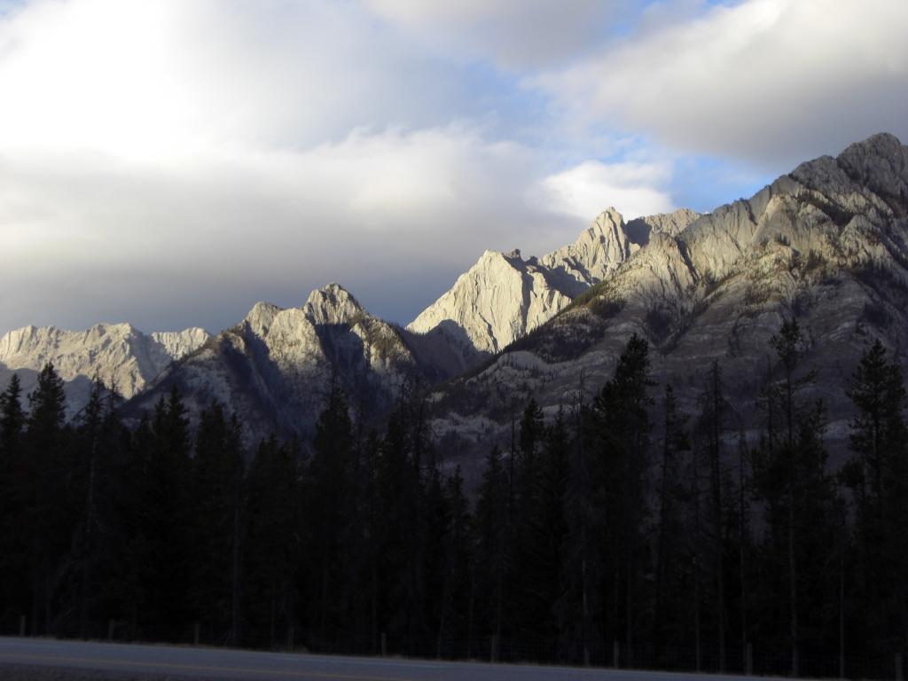 Frischrasierte Juppie-Berge