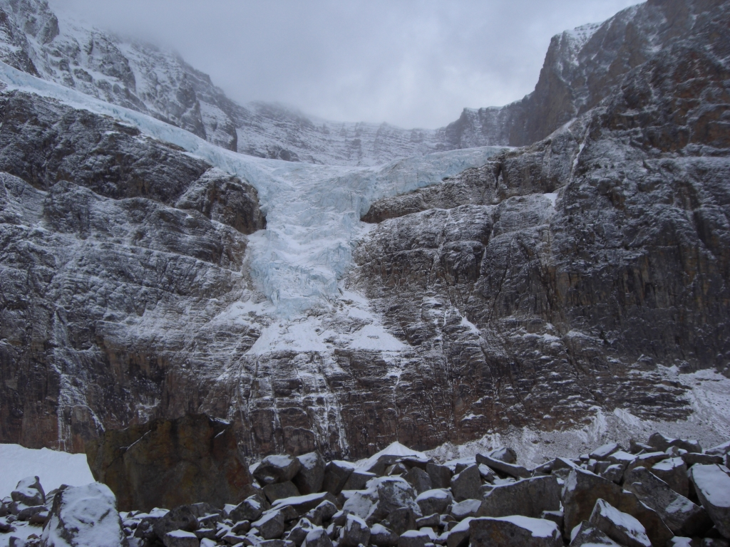 Gletscher beim Mt Edith Cavell 2