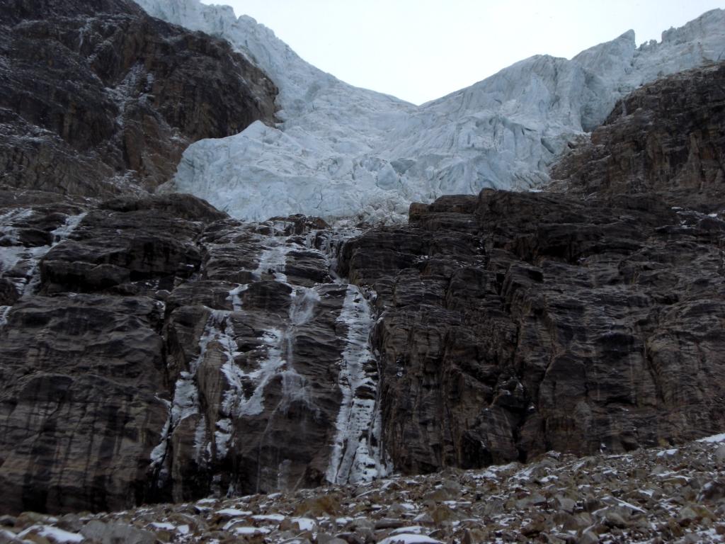 Gletscher beim Mt Edith Cavell 3