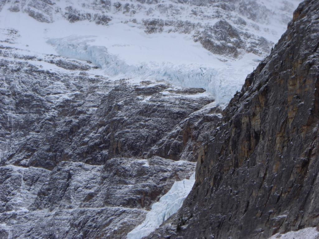 Gletscher beim Mt Edith Cavell