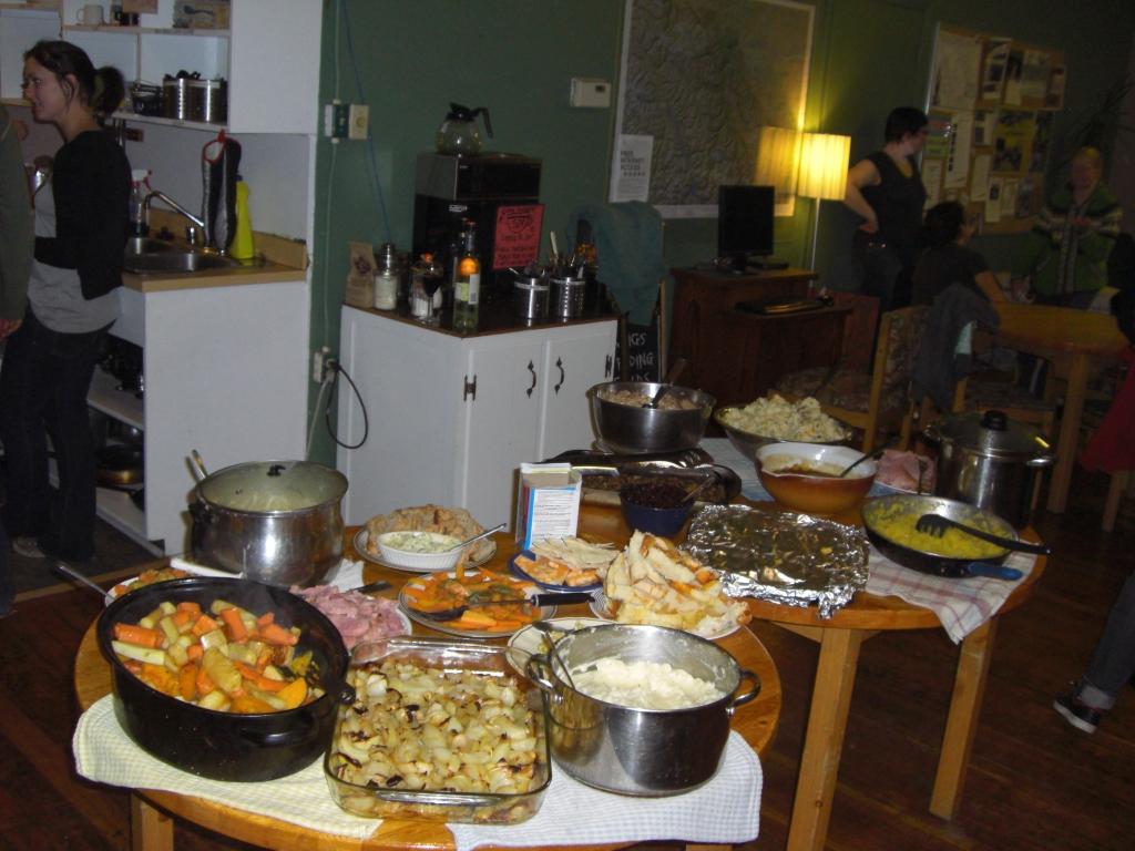 Internationales Thanksgiving Dinner