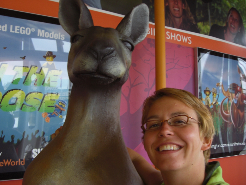 My kangaroo and I
