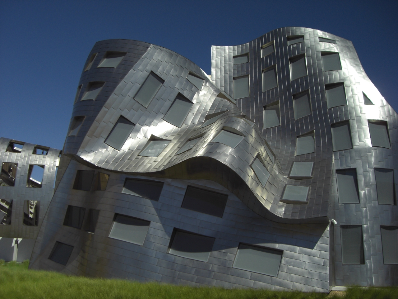 Natürlich bin ich wegen der Architektur in Vegas