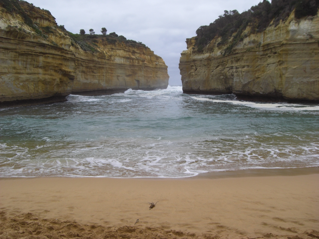 Nice beach on the Great Ocean Road