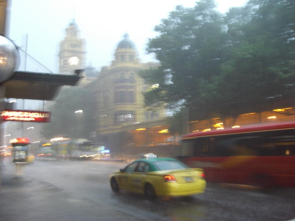 Rain rain and rain