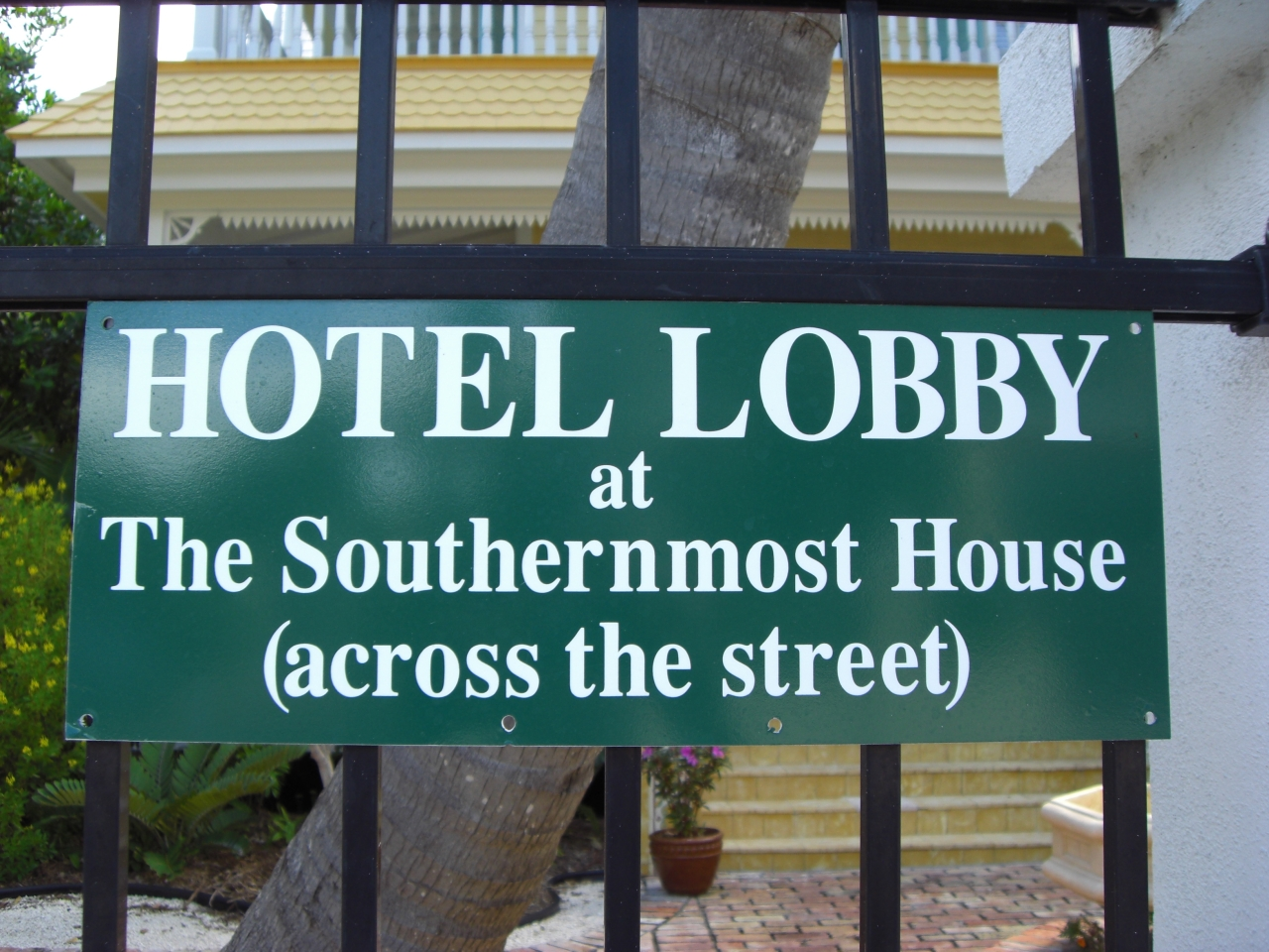 Southernmost Hotel Lobby