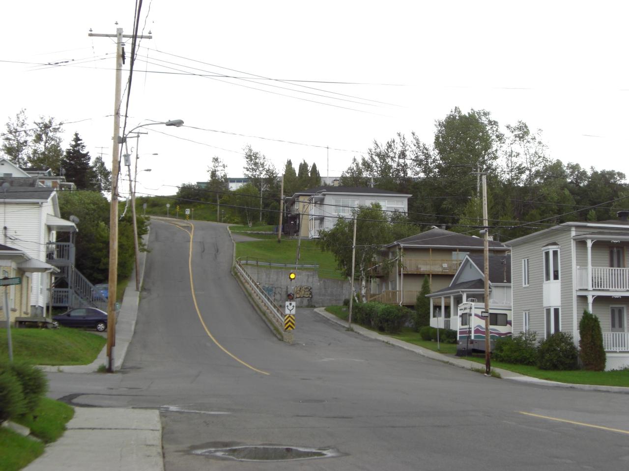 Gewinnt sie den Wettbewerb um die steilste Straße der Welt oder ist diese in Neuseeland?