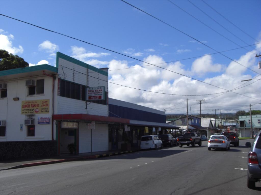 Strasse in Hilo