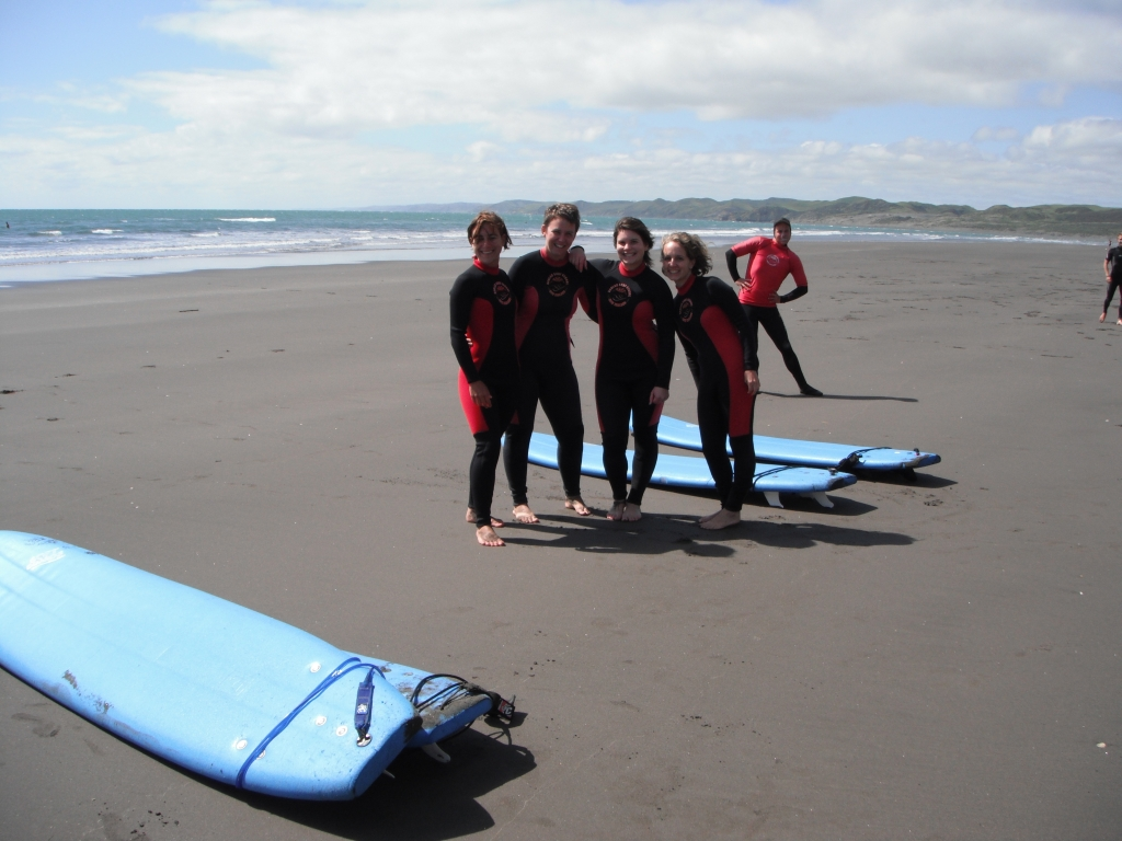 Surfing NZ -  Raglan