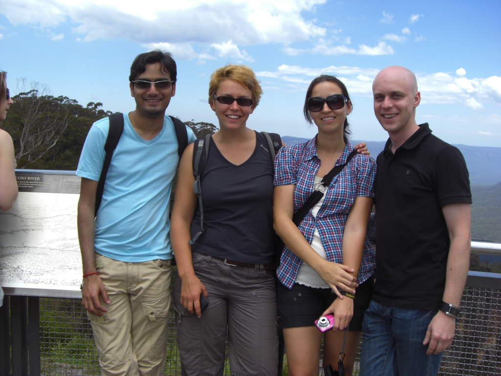 Touristic group picture