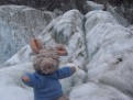 Trudi im Eis