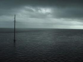 Unwetter - kein Schwarzweiss Foto