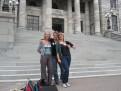 Vor dem Parlament