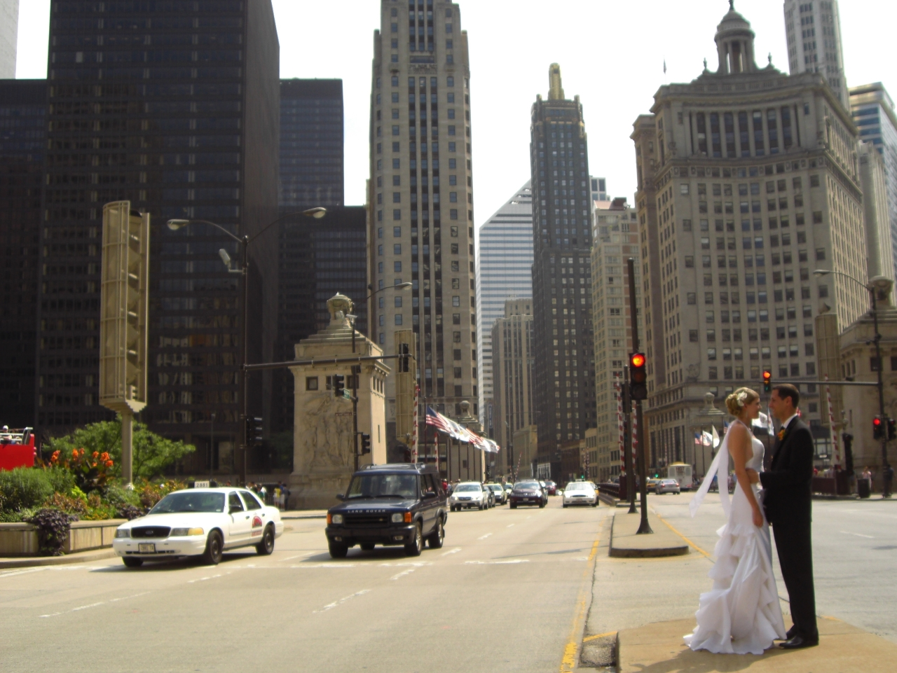 Cooles Hochzeitsfoto